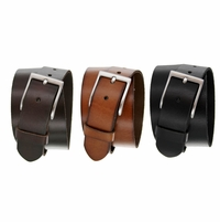 10699 Men's Full Grain Leather Casual Jean Belt