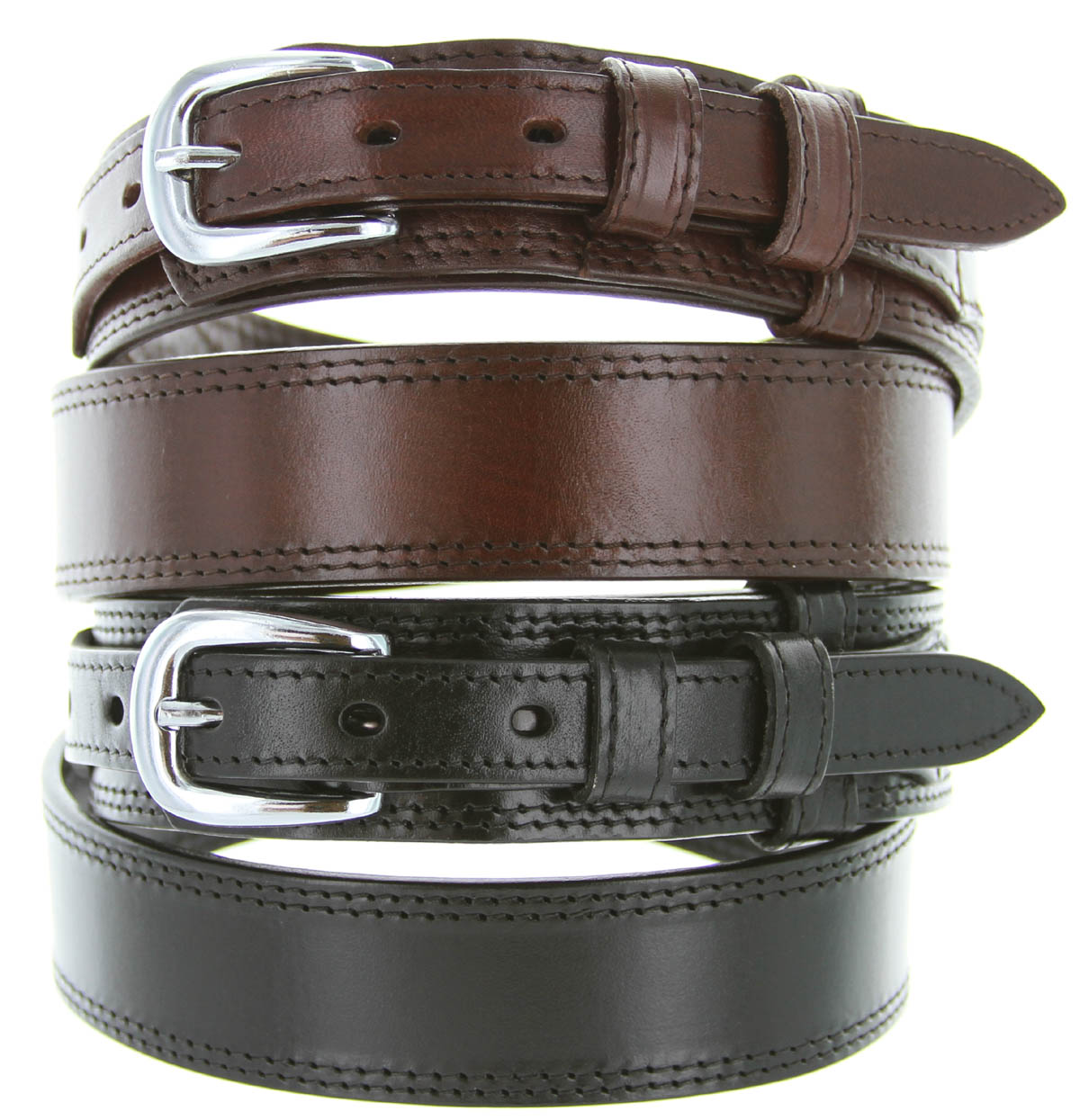 10574 s leather ranger belt black