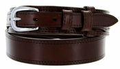 10575 Men's Leather Ranger Belt - Brown