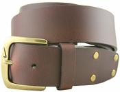1108302 Nike Causal Leather Belt Brown