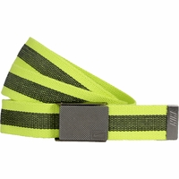 11198247 Nike Golf Sport Men's Rubber Inlay Reversible Web Belt Venom Greed