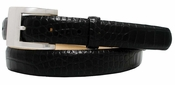 1231 Italian Leather Designer Dress Belt