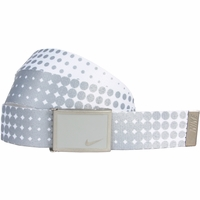 13088254 Nike Golf Sport Women's Dot Print Web Belt Base Grey