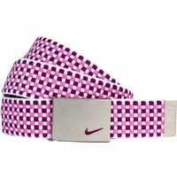 13090265 Nike Golf Sport Women's Web Belt Bright Grape/Red Violet