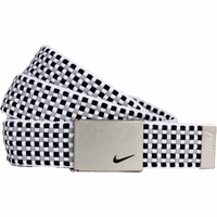 13090279 Nike Golf Sport Women's Web Belt Black Base/Grey