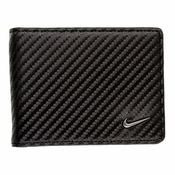 1688401 Nike Golf Tour Performance Carbon Fiber Texture Billfold - Black