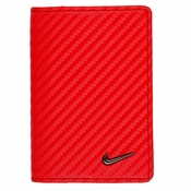 1688510 Nike Golf Tour Performance Carbon Fiber Texture Credit Card Fold - Red