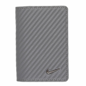 16885233 Nike Golf Tour Performance Carbon Fiber Texture Credit Card Fold - Dark Grey