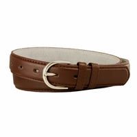 "188 Brown Women's Dress Belt 1-1/8"" Wide"