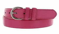 "188 Hot Pink Women's Dress Belt 1-1/8"" Wide"