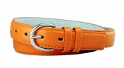 "188 Orange Women's Dress Belt 1-1/8"" Wide"