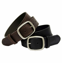 "4119 Casual Leather Belt 1-1/2"" Wide"