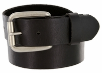 "476701 Men's One Piece Full Leather Casual Jean Belt 1-1/2"" wide"