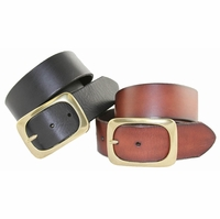 "4956 Full Grain Leather Casual Belt 1 3/4"" Wide"
