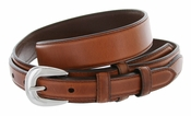 5547500 G Bar D Men's Genuine Leather Ranger Belt - Tan
