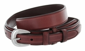 5547500 G Bar D Men's Genuine Leather Ranger Belt - Brown