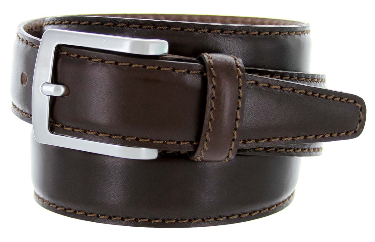 5549 35 s italian leather dress casual belt 1 3 8