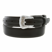 5729-1 Oil Tanned Leather Ranger Belt - Black