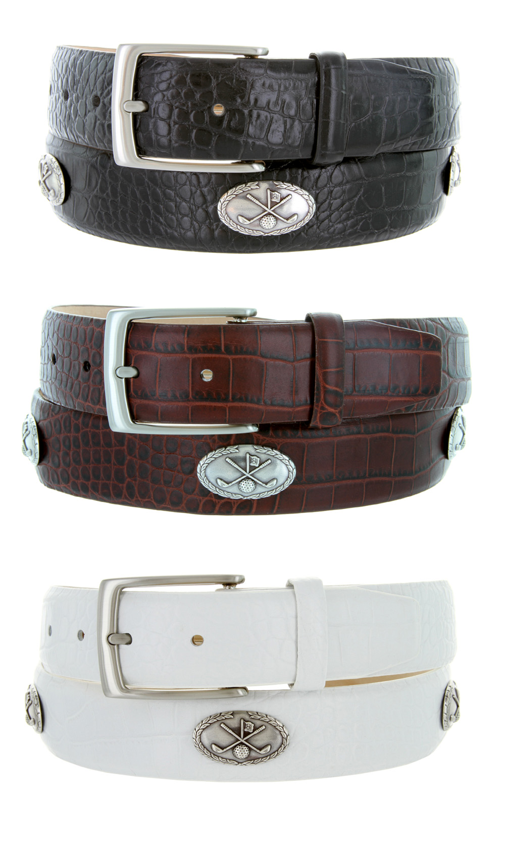 5955 italian calfskin leather golf belt 1 3 8 quot wide