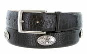 "5955 Italian Calfskin Leather  Golf Belt 1 3/8"" Wide $39.50"