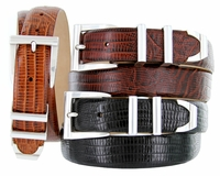 5998 Italian embossed Calfskin Leather Dress Designer Belt $32.50