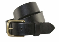 "6472 Men's Dress/Casual Leather Belt 1-1/4"" Wide Black $29.95"