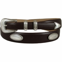 8622 Genuine Leather Designer Concho Belt