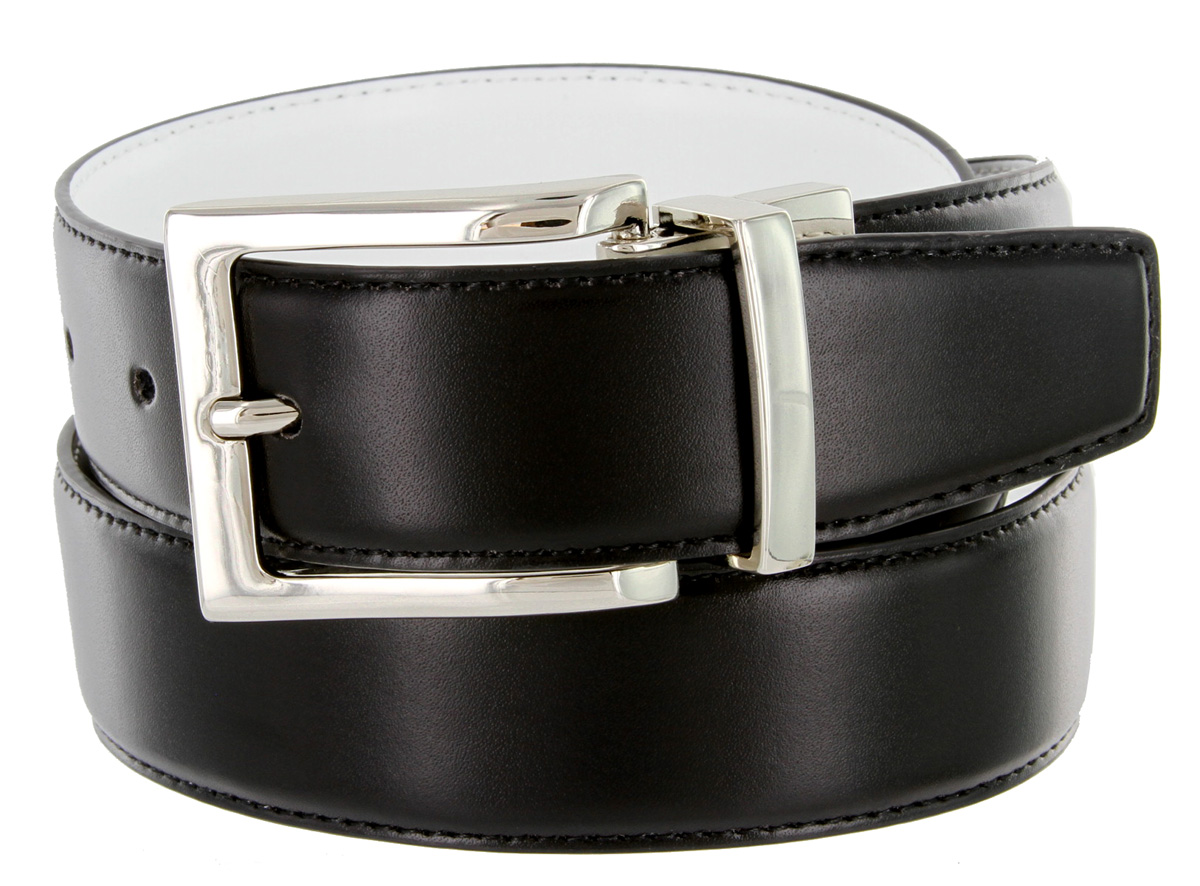 a505s s reversible leather dress belt 1 1 4 quot or 32mm