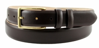 "Adam 6162 Men's Smooth Leather Dress Belt  1 1/8"" Wide-Brown $34.95"