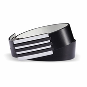 Adidas 2012 Reversible Sport Leather Belt Black/White