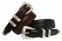 Aiden Men's Oil Tanned Leather Designer Belt  $32.50