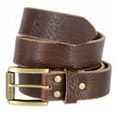"""Alex Jean Full Grain Leather Belt 1-1/2"""" Wide Hand Made In USA"""