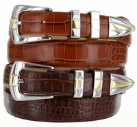 Alexander Men's Designer Italian Leather Dress Belt  $32.50