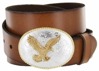 American Eagle Western Full Grain Leather Belt $27.50