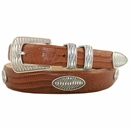 Aztec Italian Leather Concho Belt