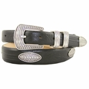Aztec Mens Italian Leather Concho Belt
