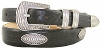 Aztec Mens Italian Leather Concho Belt $39.50