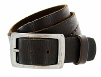 "B6552 Full Grain Hand Wave-Stitched Vintage Belt 1-1/2"" Wide $32.50"