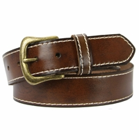 "Bastanchury Casual Leather Jean Belt 1. 5"" Wide"