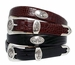 BC3109 Men's Leather Designer Dress and Golf Belt
