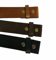 "Belt Strap Without Slot Hole 1-1/2"" Wide"
