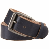 "Bill Adler 23805 1-1/2"" (38mm) Wide Genuine Leather Belt with Roller Buckle"