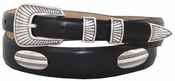 Bisby Italian Leather Concho Belt $39.50