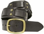 Black Bart Genuine Leather Vintage 60's style Jean Belt $27.50