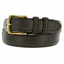 Black Crazy Horse Western Dress Belt