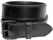 Black Roller 1051 Black Genuine Leather Belt $24.95