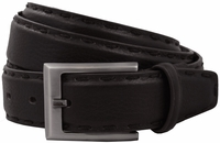 Bond Cable Mens Brown Leather Dress Belt