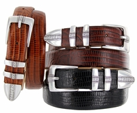 Brandon Men's Italian Leather Designer Dress Belt $32.50