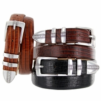 Brandon Men's Italian Leather Designer Dress Belt