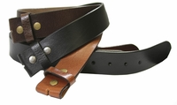 "BS025 Genuine Leather Belt Strap 1 1/2"" Wide $5.00"